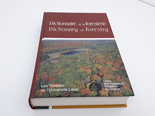 Dictionnaire De LA Foresterie/Dictionary of Forestry PDF Books