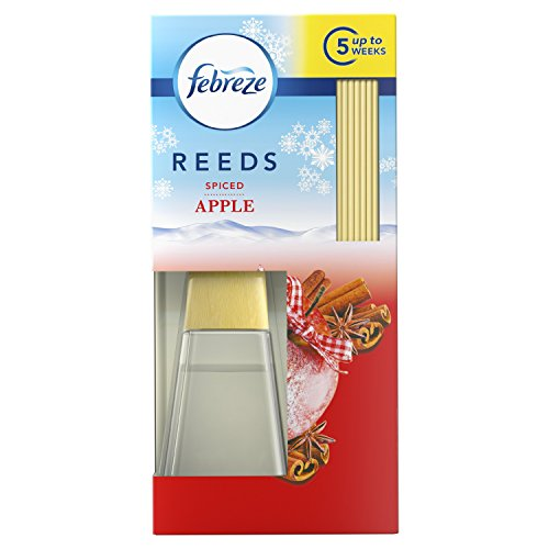 Febreze Reeds Spiced Apple Scented Oil Diffuser, 45 ml