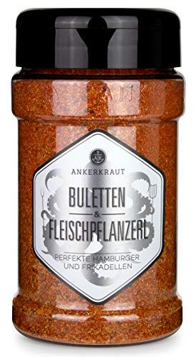 Ankerkraut Buletten & Fleischpflanzerl, Gewürzmischung für Buletten und Frikadellen, 220g im Steuer