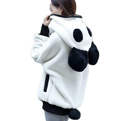 SHANGYI Jacket Dames-beer-oor mantel winter warme mantel mantel mantel