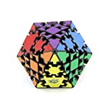 RainbowBox Gear Cube Rhombic Dodecahedron 3D Gear Magic Cube Puzzle Toys for Kids and Adults Educational Toy