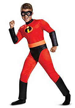 Disguise Disney Pixar Dash Incredibles 2 Muscle Boys  Costume ,Size/ 4-6