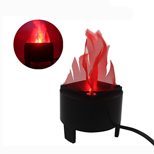LED Artificial Fire Lamp Fake Flame Effect Lamp 3D Fire Campfire Centerpiece Flame Lightning Torch...