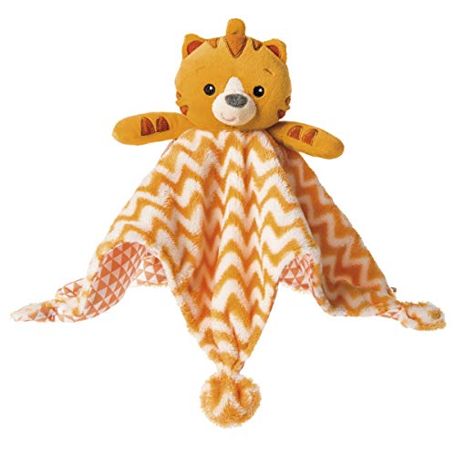 Mary Meyer Baby Einstein First Discoveries Peekaboo Blanket, 13 x 13-Inches, Tinker Tiger