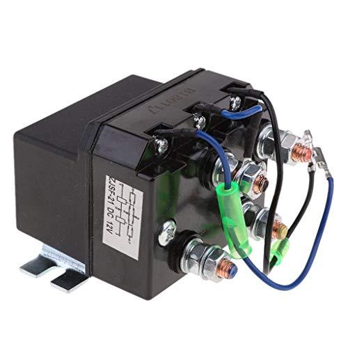 NLLeZ 1pc Resistente 12V DC Winch Reversing Solenoide Relay 200a ATV Interruptor