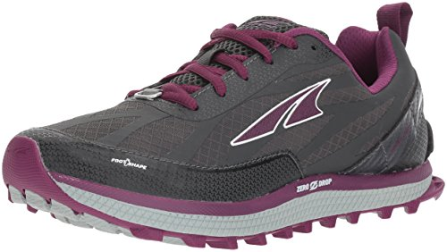 ALTRA Women's Superior 3.5 Sneaker, Gray/Purple, 10 Regular US
