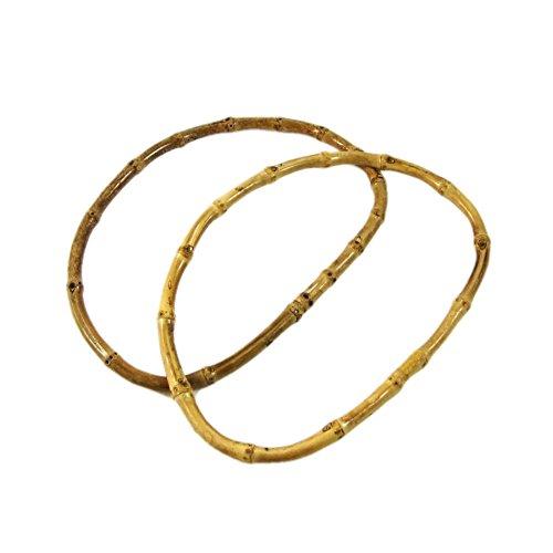 5 pares de mano tiene un diseño de bambú bolsa para asas de bolso de mano