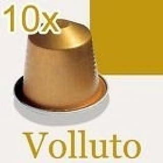 Nespresso Volluto Coffee Capsules For 100 Capsules