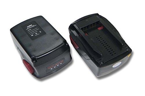 vhbw 2x batterie compatibili con Hilti TE 6-A22, RT 6-A22, SFD 22-A, SF 6-A22, SF 6H-A22, SF 8M-A22, SF 10W-A22 ATC, SBT 4-A22(3000mAh, 21.6V, Li-Ion)