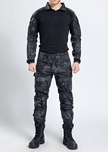NOGA Nuova Serie Commando camuffamento Rana mute mimetiche Pantaloni tattico spesso respirare liberamente diresistenza Giacca + pantaloni