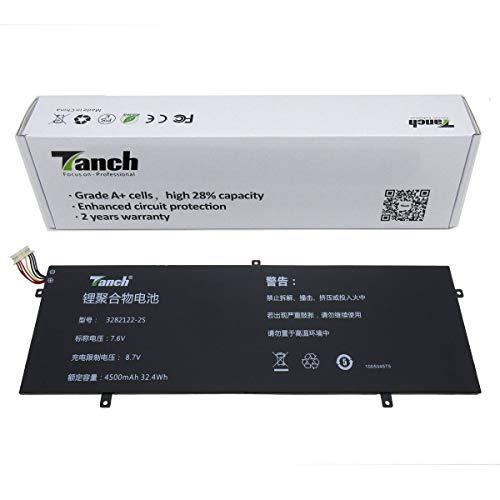 Tanch Laptop-Akku für Jumper Ezbook 3S 3 Pro V4 EZbook 3L Pro Peaq Slim S130 Trekstor Surfbook A13B Primebook C11 7.6V 4500mAh 32,4Wh