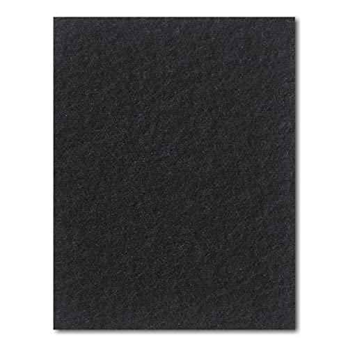 hitools Universal Staubsaugerfilter & Motorschutzfilter, Filtermatte MSFc03, 250 x 200 mm - zuschneidbar - schwarz