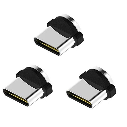 Ruibo Sike Lot de 3 adaptateurs micro USB magnétiques.
