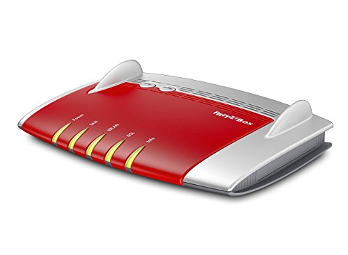 AVM Fritz!Box 3490 International Dual-WLAN AC + N (VDSL-/ADSL2+ (Annex A + B), mit 1.300 MBit/s, 5GHz + 450 MBit/s, 2,4GHz) (Generalüberholt)