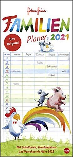 Helme Heine Familienplaner Kalender 2021