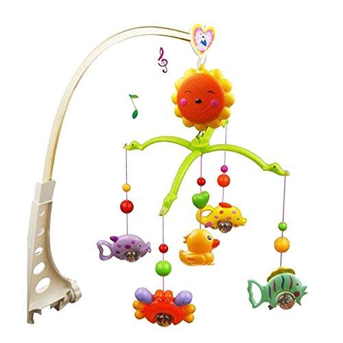 FENICAL Campana Letto Bambino Mobile Musicale Giocattolo Educativo (Colore Casuale)