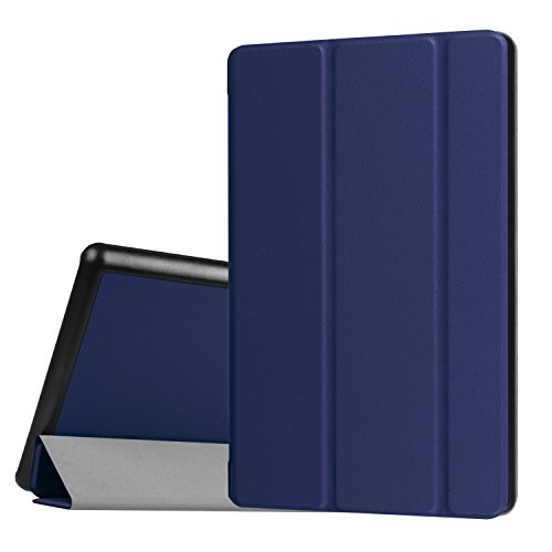 Sevrok Case for Fire HD 8 Tablet / Fire HD 8 Plus Tablet (2020) Smart Lightweight Folding Stand Protective Cover with Auto Wake/Sleep Feature, Blue