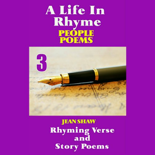A Life In Rhyme - People Poems audiobook cover art