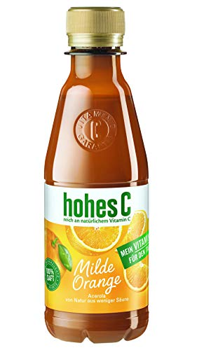hohes C Milde Orange - 100% Saft PET, 12er Pack (12 x 250 ml)
