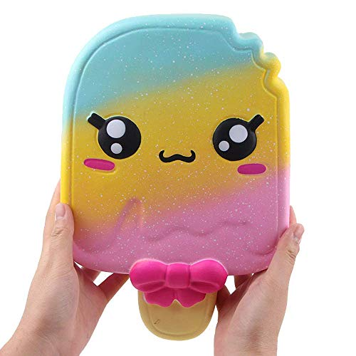 Giant Squishy Toys Jumbo Soft Slow Rising Squishies Collection Gift Stress Relief Toy (Icea Cream B)