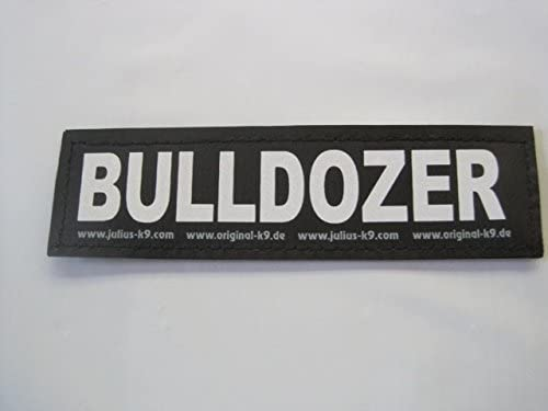 Labels Bulldozer Small Package of 2 Julius K9 for Harnesses product image