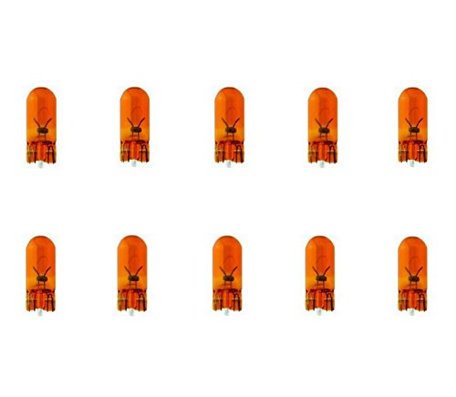 10x WY5W T10 12V 5W W2,1x9,5d BLINKER BLINKLEUCHTEN ORANGE AMBER LAMPEN SEITENBLINKER 10 STÜCK FALTSCHACHTEL Jurmann® LongLife & Erschütterungsfest