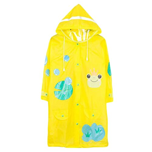 Belle Raincoat Raincoat Imperméable de Toddler Unisex Kid, Jaune