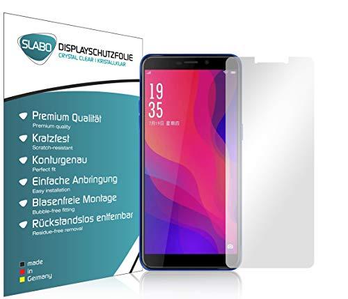 Slabo 4 x Bildschirmschutzfolie für Vernee X2 (2019) Bildschirmfolie Schutzfolie Folie Zubehör Crystal Clear KLAR