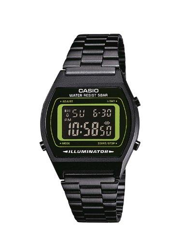 Casio B640WB-3BEF - Reloj de pulsera, Masculino, Negro / Verde