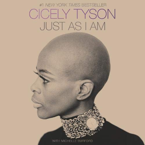 Just as I Am Audiobook By Cicely Tyson, Michelle Burford cover art