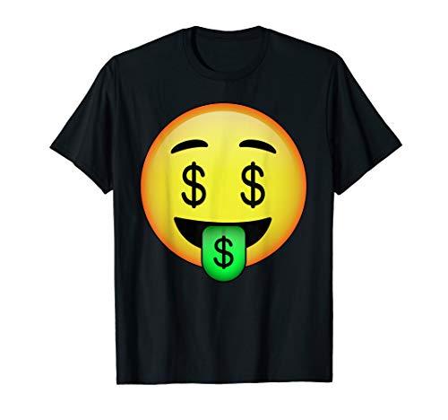 HD Emoji Money Mouth Face Shirt - Dollar Sign Eyes Emoticon