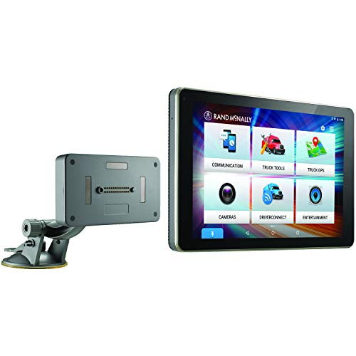 "Rand McNally 528017829 OverDryve 8 Pro 8"" Truck GPS Tablet with Dash Cam, Bluetooth, SiriusXM Ready & Free Lifetime Maps & Traffic Updates"
