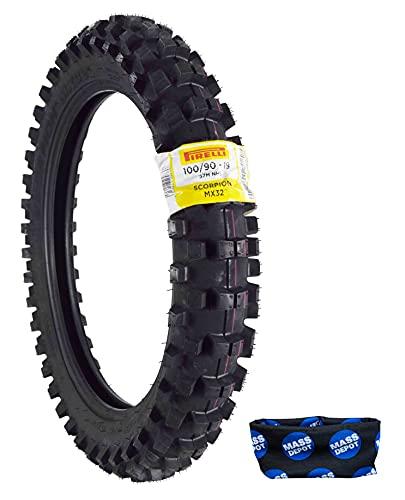 Pirelli Scorpion MX32 Extra X Dirt Tires- Best Dirt Bike Front Tire for Woods