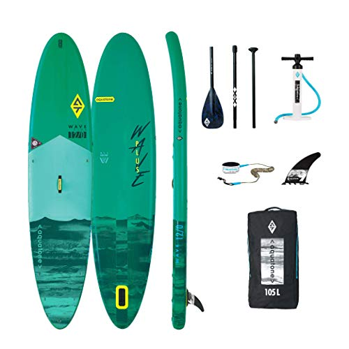 Aztron Aquatone Wave Plus 12.0 Isup Hinchable Tabla de Surf, Stand Up Paddle 366x81x15