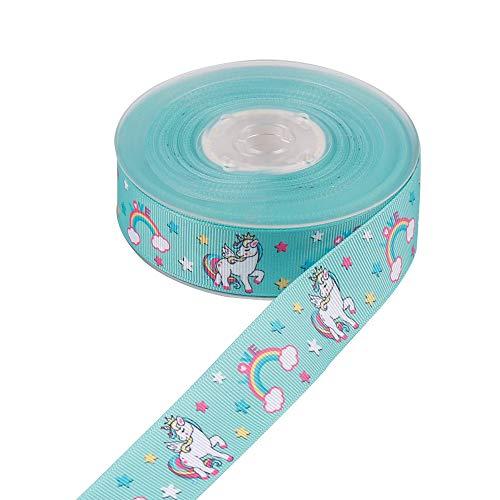 Godagoda cakedecoratie creatief cartoon hoorn patroon deco linten ribband satijnen lint lint decoband stoffen lint cadeaulint