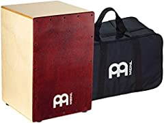 Perfect for acoustic shows and jam sessions — the birch cafe Cajon is the perfect grab-and-go percussion instrument for singers/songwriter circles, spontaneous jam sessions, accompanying guitarists and supporting acoustic bands in coffee house settin...