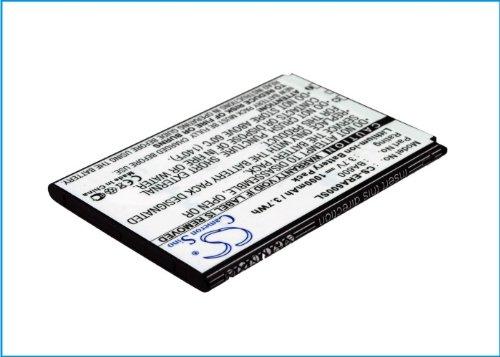CS-ERA600SL Batería 1000mAh Compatible con [Sony Ericsson] Kumquat, ST25, ST25i, Xperia U...