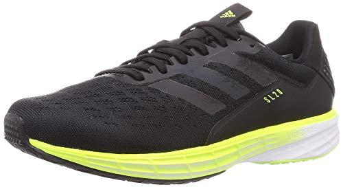 adidas SL20, Zapatillas Hombre, NEGBÁS/NEGBÁS/VERSEN, 45 1/3 EU ⭐