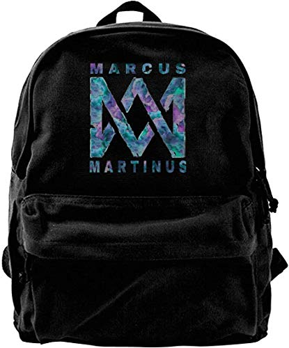 shanximengyama Marcus Martinus Travel Laptop Backpack Laptops Backpack College School Computer Bag for Women Men Fits 14 Inch Laptop and Notebook Casual Laptop Business Bag Black