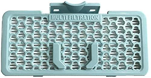 NICERE Recambios para aspiradoras 1 filtro de polvo H13 apto para piezas de accesorios de aspiradora LG, ADQ73553702 ADQ56691102 VC9083CL VC9062CV VC9062CV VC9095R (color: azul) (Color: Azul)