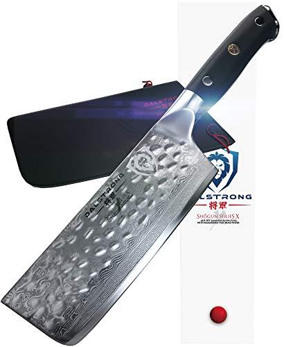 DALSTRONG Gemüsemesser – Shogun Series X – AUS-10V – Vakuumbehandelt - Hammergeschlagen – Nakiri Vegetable Knife -15,2 cm