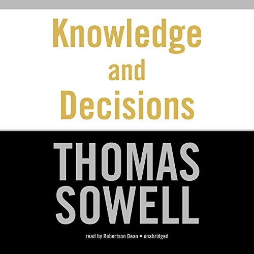 Knowledge and Decisions audiobook cover art