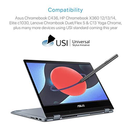 Andana USI Stylus Pen für USI Chrome OS-kompatible Geräte von Lenovo, Asus, HP (schwarz) - 5