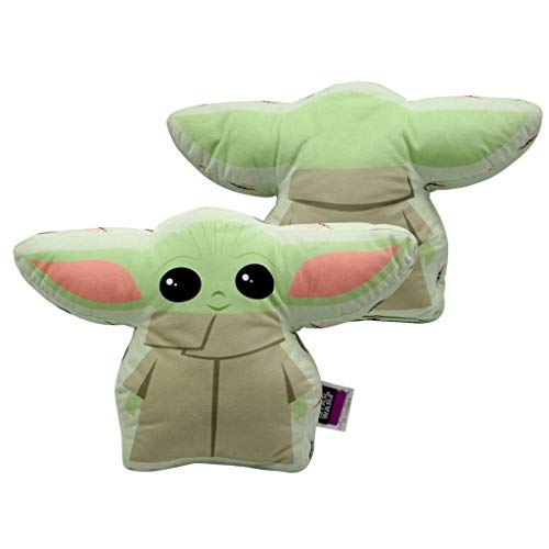 Almofada Formato Baby Yoda Star Wars The Mandalorian