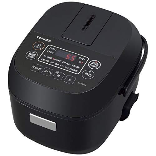 東芝 マイコンジャー炊飯器(3合炊き) ブラックTOSHIBA RC-5MFM-K