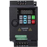 Mini VFD, inversor de frecuencia Inversor convertidor de frecuencia variable trifásico para motor, variador de velocidad 220V / 380V 0.75/1.5/2.2KW (380VAC-0.75KW)