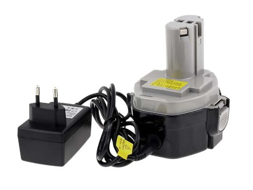 akku-net Akku für Makita Radio BMR100/BMR101/BMR102 || inkl. Ladegerät || Kapazität 2000mAh || hochwertige japanische Zellen || Spannung 14,4V || Li-Ion-Technologie