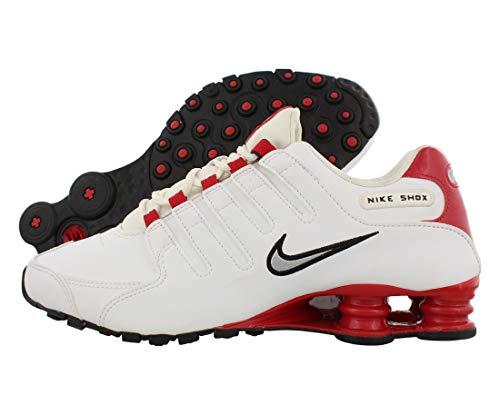 Nike Air Max 90 - Scarpe da ginnastica da uomo, (White Silver Red), 44 EU