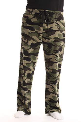 #followme Polar Fleece Pajama Pants for Men Sleepwear PJs 45902-CAMOGRN-S Camouflage Green