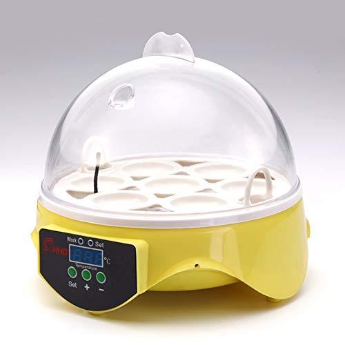 BONAE (7 Eier Inkubatoren für Geflügeleier Brutgerät Automatische Brutmaschine Flächenbrüter Inkubator Brüter